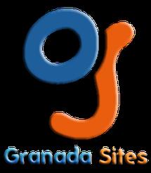 """Logotipo de Granada Sites, """"La Web que quieras"""""""