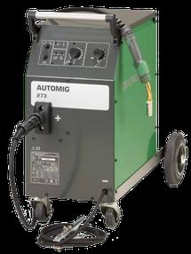 MAG Schweißgerät kompakt stufengeschaltet fahrbar
