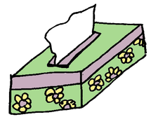 Grafik Taschentuchspender