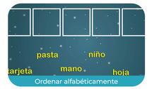Ordenar alfabéticamente