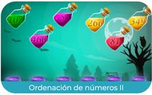 Ordenar números (II)