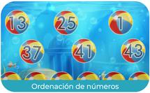 Ordenación de números - (1º EP)