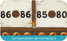 Comparación de números - (1º EP)