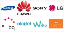 Marcas de telefonos moviles con sistema operativo Android
