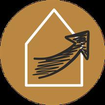 Button Homestaging und Musterwohnungen