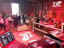 Hochzeitsfeier auf dem Rosenhof in Buschhoven. Ton- und Lichttechnik, sowie Service und DJ von TB sound & light