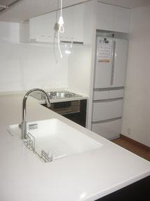 川崎市S様邸マンショントータルリフォーム キッチン施工事例