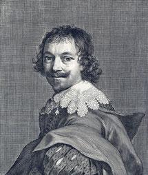 Claude Mellan Autoportrait Cliché B. Tillier-Bouche