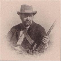 """Portrait de Jean-Baptiste Rames - Cl. Pilarski - Héliotype sans date, extrait du """"Bulletin de la société géologique de France"""" - 1895 - Bibliothèque Musée du Veinazès"""