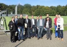 Gruppenfoto im Zuge der Veranstaltung der IHK Duisburg zum Thema Energieauditpflicht und Energiemanagementsysteme