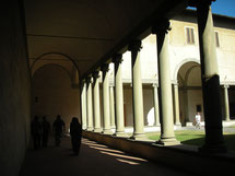 Firenze - Borgo Pinti - Chiostro