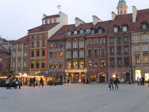 ポーランド、ワルシャワ旧市街広場