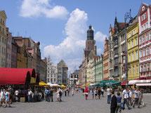 ヴロツワフ旧市街広場