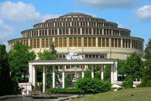 ヴロツワフ シチトゥニツキ公園 百周年記念ホール