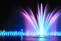 百周年記念ホール横の噴水