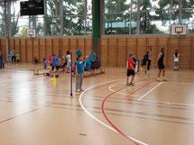 buchsi-athletics am Tag der offenen Halle