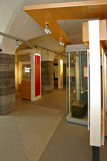 The Revenue Museum is located in the crypt of the Chapel Royal in Dublin Castle.