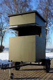 Sedlmaier Revierbedarf, Mobile Sitzkanzel, Jäger, Jagd, Wild, Wald