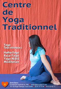 yoga a tours au centre de yoga traditionnel sonia djaoui - via energetica annuaire des therapeutes en touraine