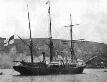 Шхуна Заря в Норвегии, 1899 год
