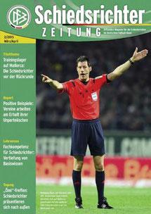 Auktuelle DFB-Schiedsrichter-Zeitung