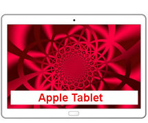 mobile Tablet Internet Flat mit Apple iPad