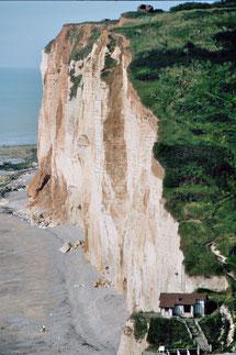 Steilküste bei Sassetot