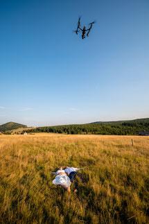 Fotografieren mit ener Drohne