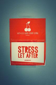 Stress lass nach: Marketing-Tür