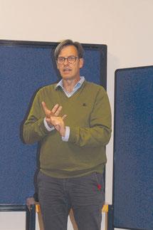 Berhard Engl vom Forum nachhaltige Geldanlagen