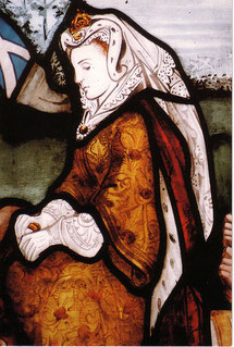 Maria Stuart, schottische Königin, trägt ein ATIFET (flickr, picture by Ciaran Roarty)