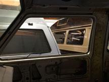 Glänzende polierte Vorsatzfenster