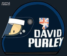 Helmet of David Purley by Muneta & Cerracín