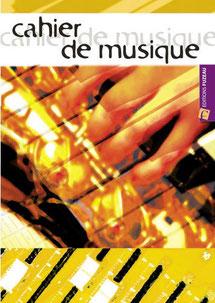 cahier de musique pour solfege
