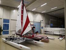XCAT Row&Sail Auslieferungshalle Lichtenberg