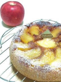 焼き菓子スタンダードコースより【りんごのクランブルケーキ】