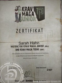 Krav Maga - Combatives Hanau - Instructor Krav Maga Kids - Instructor Krav Maga Teens - Trainerin Sarah