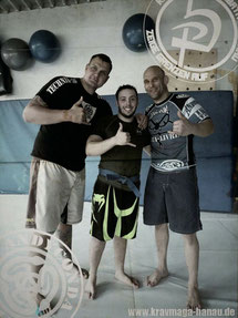 Krav Maga - Combatives Hanau - Andyconda Luta Livre Blue Belt - Trainer Daniel