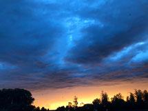Himmel am 03.10.2020 - Foto: Nina Kochs
