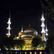 Sultanhamet Moschee in Istanbul