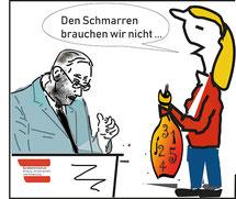Resignativ und ängstlich die Kritik von Bildungslandesrätin Barbara Schöbi-Fink. bild:spa