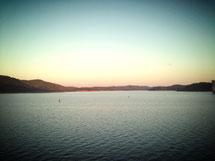 Sonnenuntergang Santa Clara See