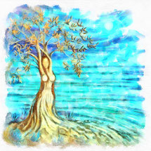 Apfelbaum - keltischer Baum des Lebens