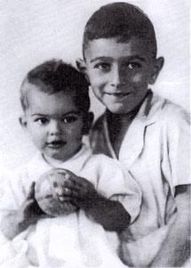 Lore und Ernst Simons, Enkel von Therese-Helene Simons, von Nationalsozialisten ermordet