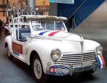 Peugeot 203  Equipe de France      Tour de France 1954