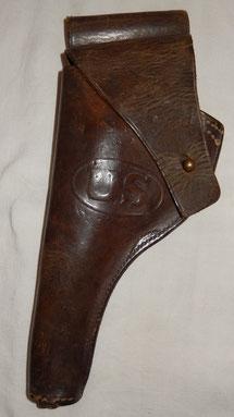étui cuir US revolver 1909
