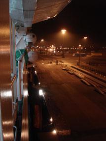 Vue du pont 6 à tribord. (©.lebateaublog.2011)