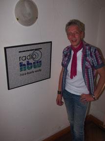 (Peer Wagener zu Gast bei radio-hbw)
