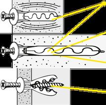 Technische Zeichung Spezial-Kragendübel