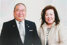 法人創設当時の理事長夫妻